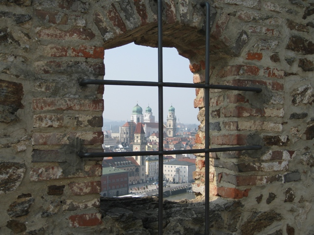 Passau from the abbey