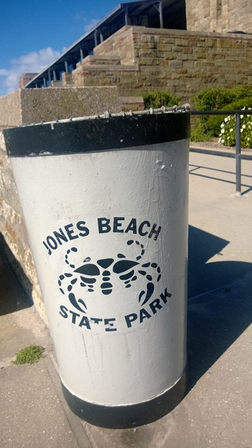 Jones Beach Garbage Can