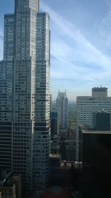 View from NY Hilton